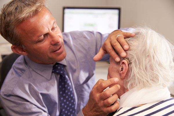 Regular follow-up consultation with the audiologist